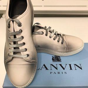 Lanvin size 9 men's sneaker